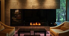 XL1200 室内壁炉 - In-Situ Image by EcoSmart Fire