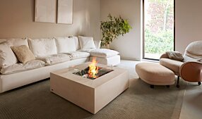Private Residence - Base 40 壁炉家具 by EcoSmart Fire