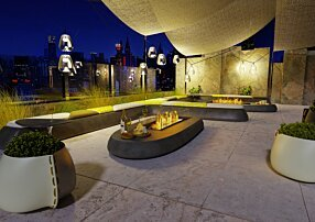 Commercial -  Fire Pit Kit by EcoSmart Fire