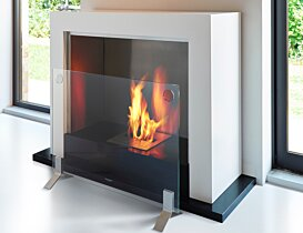 Plasma Fire Screen 壁炉屏 - In-Situ Image by EcoSmart Fire