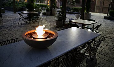 Mix 600 中心壁炉 - In-Situ Image by EcoSmart Fire