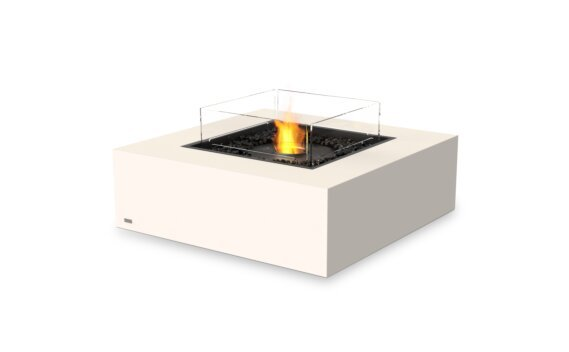 Base 40 壁炉家具 - Ethanol - Black / Bone / Optional Fire Screen by EcoSmart Fire