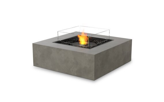 Base 40 壁炉家具 - Ethanol - Black / Natural / Optional Fire Screen by EcoSmart Fire