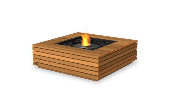 Base 40 壁炉家具 - Ethanol - Black / Teak by EcoSmart Fire