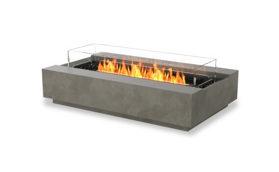 Cosmo 50 壁炉家具 - Ethanol - Black / Natural / Optional Fire Screen by EcoSmart Fire