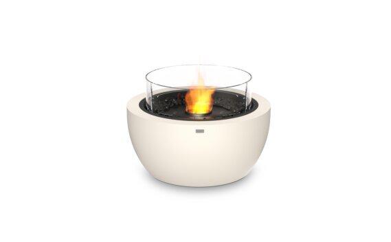 Pod 30 整体壁炉 - Ethanol - Black / Bone / Optional Fire Screen by EcoSmart Fire