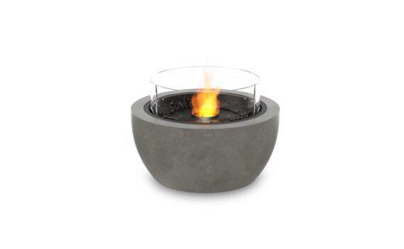 Pod 30 整体壁炉 - Ethanol - Black / Natural / Optional Fire Screen by EcoSmart Fire