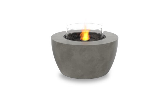 Pod 40 整体壁炉 - Ethanol - Black / Natural / Optional Fire Screen by EcoSmart Fire
