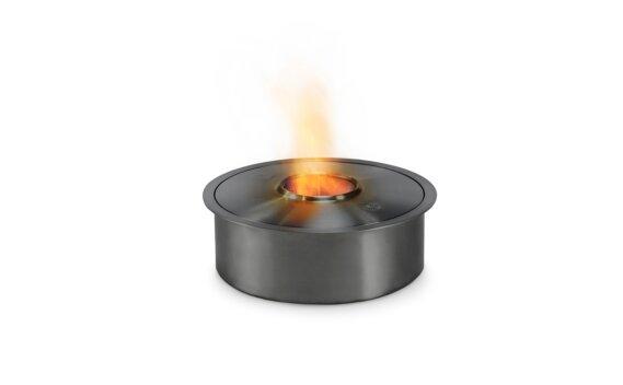 AB3 生物乙醇燃烧器 - Ethanol / Black / Top Tray Included by EcoSmart Fire