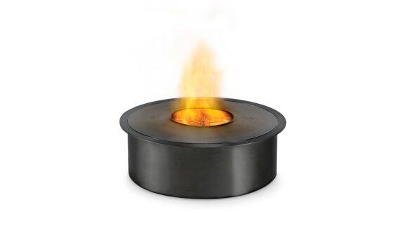 AB8 生物乙醇燃烧器 - Ethanol / Black / Top Tray Included by EcoSmart Fire