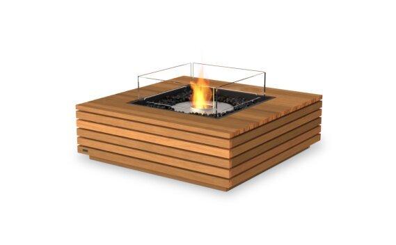 Base 40 壁炉家具 - Ethanol / Teak / Optional Fire Screen by EcoSmart Fire