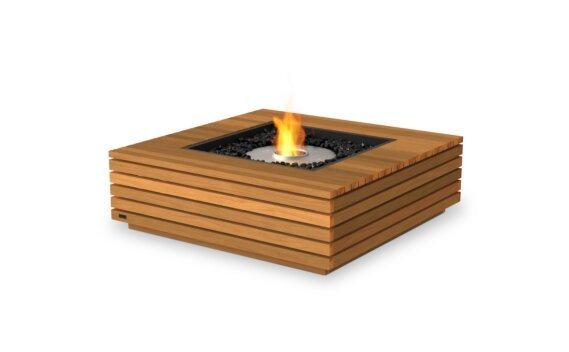 Base 40 壁炉家具 - Ethanol / Teak by EcoSmart Fire