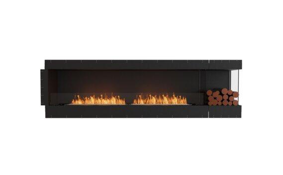 Flex 104RC.BXR Right Corner - Ethanol / Black / Uninstalled View by EcoSmart Fire