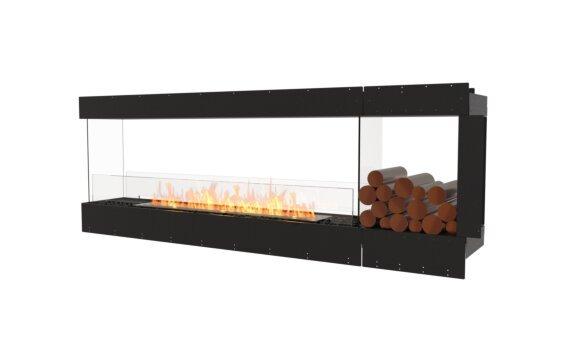 Flex 86PN.BXR Peninsula - Ethanol / Black / Uninstalled View by EcoSmart Fire