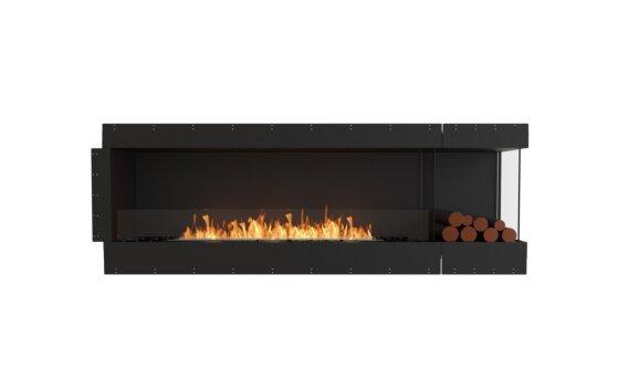 Flex 86RC.BXR Right Corner - Ethanol / Black / Uninstalled View by EcoSmart Fire