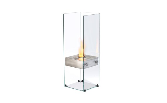 Ghost 设计壁炉 - Ethanol / Stainless Steel by EcoSmart Fire