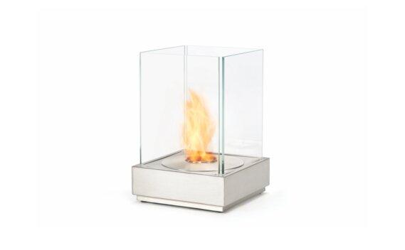 Mini T 整体壁炉 - Ethanol / Stainless Steel by EcoSmart Fire