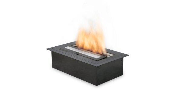 XS340 生物乙醇燃烧器 - Ethanol / Black / Top Tray Included by EcoSmart Fire