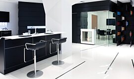 Snaidero Showroom Kitchen Interior Designs 设计壁炉 Idea