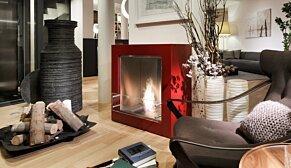Cube 设计壁炉 - In-Situ Image by EcoSmart Fire