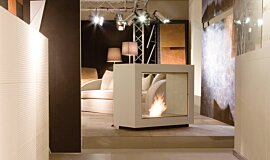 Milan Fair Commercial Fireplaces 设计壁炉 Idea