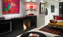 Private Residence Builder Fireplaces 嵌入式燃烧室 Idea