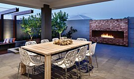 The Brindabella Builder Fireplaces 生物乙醇燃烧器 Idea