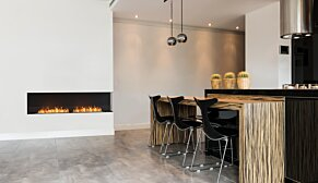 Flex 86RC.BXL Flex Fireplace - In-Situ Image by EcoSmart Fire