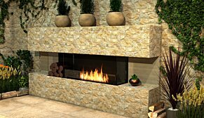 Flex 68BY Flex Fireplace - In-Situ Image by EcoSmart Fire
