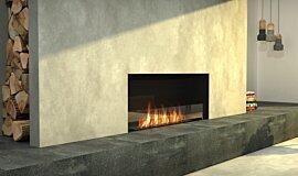Living Area Single Sided Fireboxes Flex Fireplace Idea
