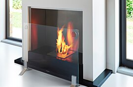Plasma Fire Screen 壁炉屏 - In-Situ Image by EcoSmart Fire