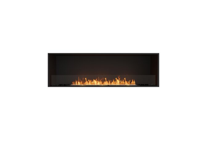 Flex 68SS Single Sided - Ethanol / Black / Installed View by EcoSmart Fire