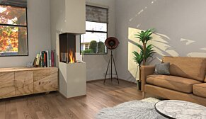 Flex 18PN Peninsula - In-Situ Image by EcoSmart Fire