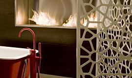 Fuori Salone 2010 Commercial Fireplaces 嵌入式燃烧室 Idea