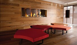Korn Design Group Commercial Fireplaces 嵌入式燃烧室 Idea