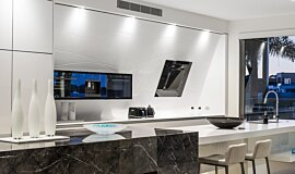 Enigma Interiors  Kitchen Interior Designs 生物乙醇燃烧器 Idea