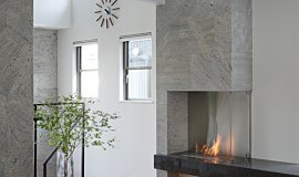 Private Residence Builder Fireplaces 生物乙醇燃烧器 Idea