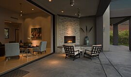 Outdoor Space Traditional Fireplaces Flex Fireplace Idea