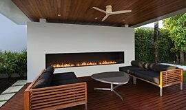 Flex 158SS Single Sided Fireplace by EcoSmart Fire Builder Fireplaces Flex Fireplace Idea