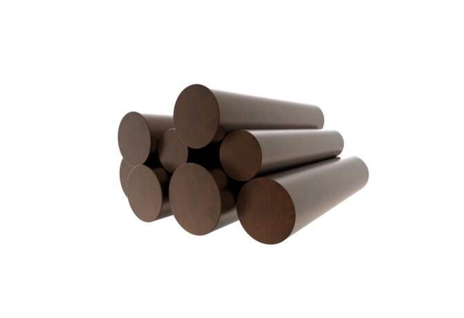 Log Set Copper 装饰鹅卵石 - Copper by Blinde Design