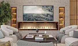 SoIncev Interiors Builder Fireplaces 生物乙醇燃烧器 Idea