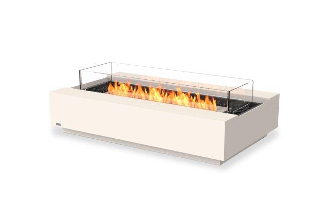 Cosmo 50 壁炉家具 - Ethanol / Bone / Optional Fire Screen by EcoSmart Fire