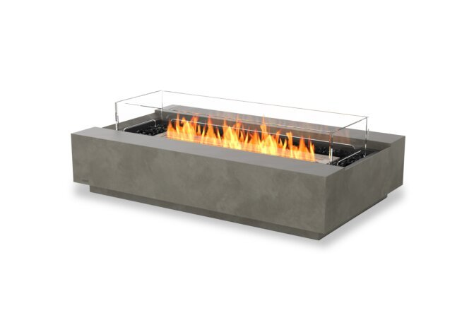 Cosmo 50 壁炉家具 - Ethanol / Natural / Optional Fire Screen by EcoSmart Fire