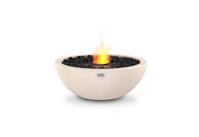 Mix 600 整体壁炉 - Ethanol - Black / Bone by EcoSmart Fire