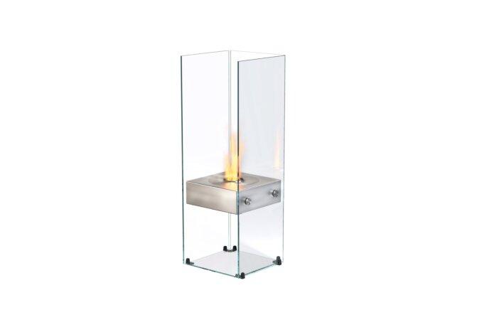 Ghost 设计壁炉 - Ethanol / Stainless Steel / Optional Log Set by EcoSmart Fire