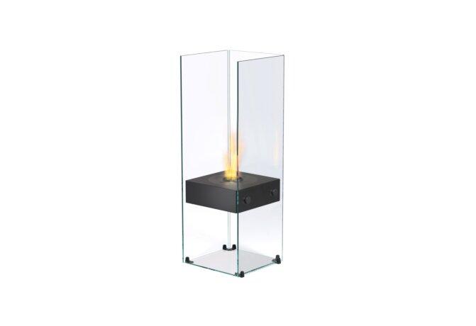 Ghost 设计壁炉 - Ethanol / Black / Optional Log Set by EcoSmart Fire