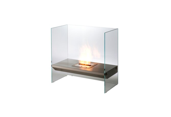 Igloo 设计壁炉 - Ethanol / Stainless Steel by EcoSmart Fire