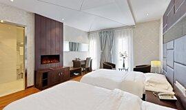Hotel Room Indoor Fireplaces 嵌入式燃烧室 Idea