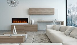 Private Residence Electric Fireplaces 嵌入式燃烧室 Idea