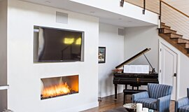 Studio City  Single Sided Fireboxes Fireplace Insert Idea